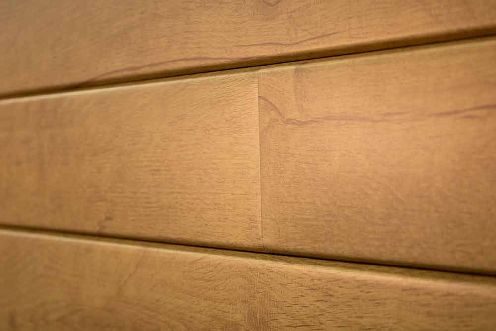 Lux Architectural Products Lap Panel Knotty Dessert Oak